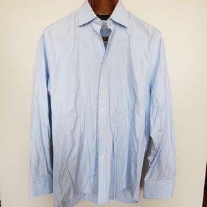 Charles Tyrwhitt // white pin stripe long sleeve